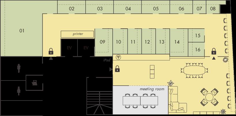 「シェアオフィス FUSION_N」のコンセプト