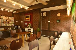 カメラのヤマヤ内 カフェスペース