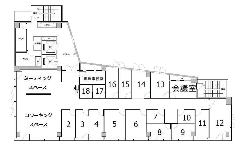 「一番町インキュベーションセンター」のコンセプト