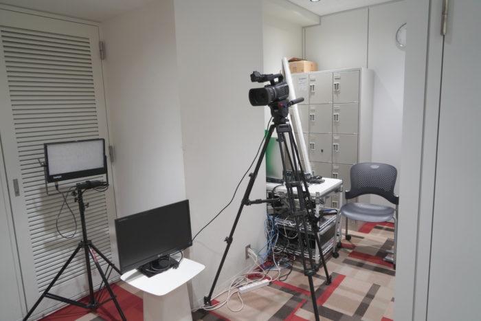 ナレッジソサエティの動画スタジオ