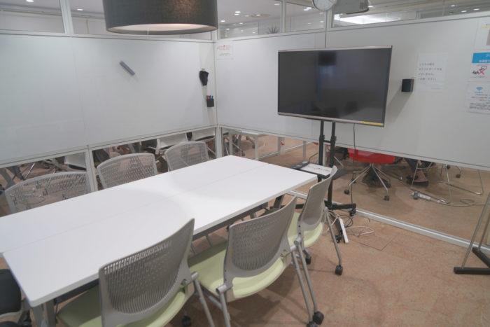 ナレッジソサエティの会議室の写真