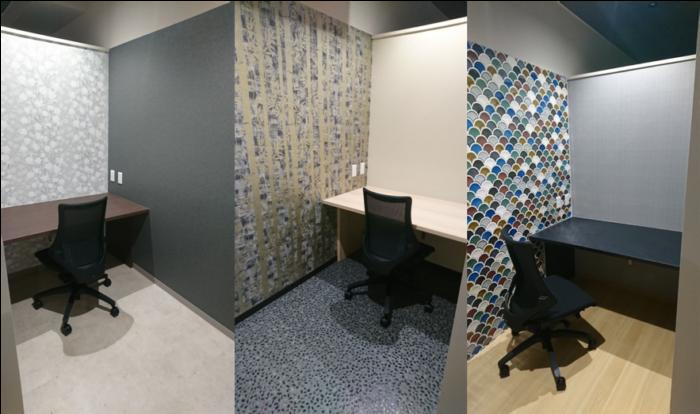 コラボサクラインタビュー コワーキングスペース内の個室