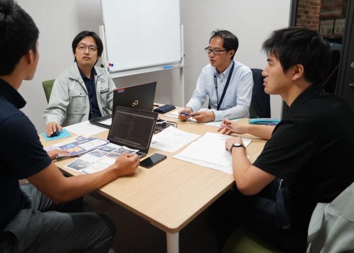 コラボサクラインタビュー 佐倉市の担当者との写真