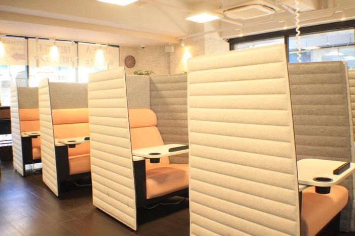 「ACCEA CAFE 新大阪駅前店」の立地