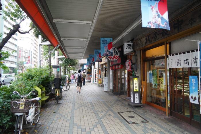 門前仲町駅周辺の環境