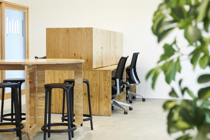 「COWORKING SPACE SYNERGY」について