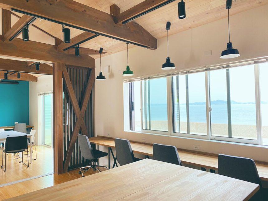 シェアオフィス「sea glass」