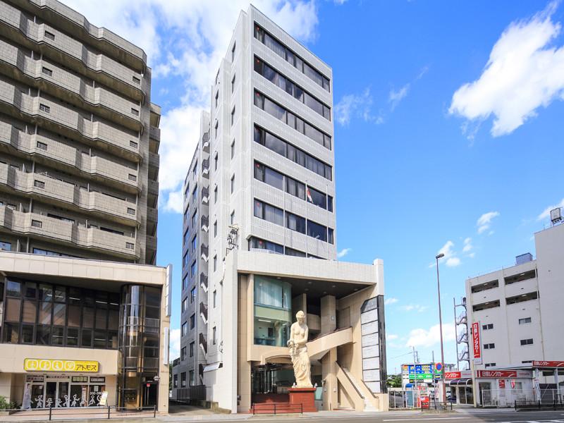 「リージャス 仙台花京院ビジネスセンター」の立地