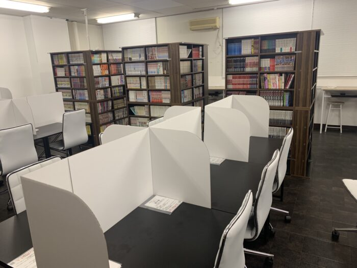 「Co-working Space & Comic Cafe dropIn(ドロップイン)」について