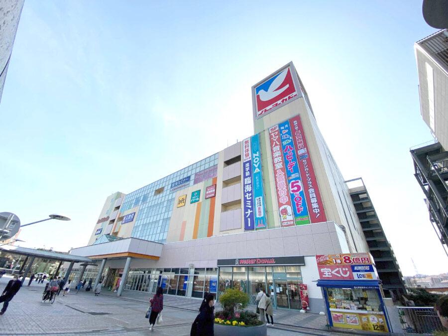 「コワーキング・自習室 TiNK Desk 多摩 南大沢駅前」の立地