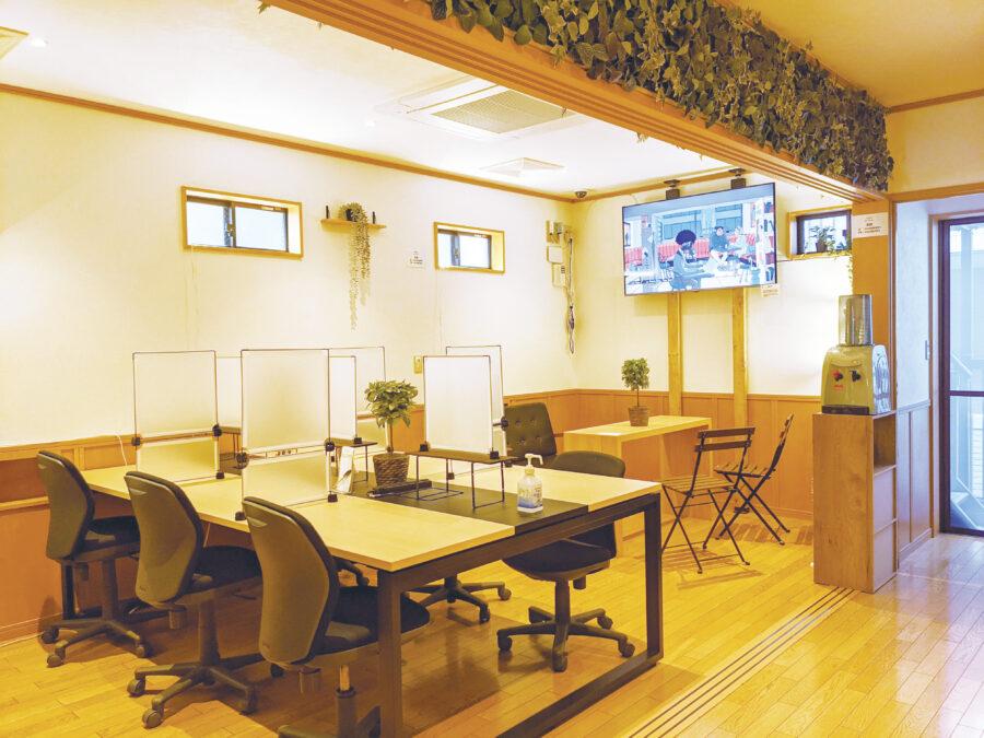 「コワーキングスペース ライブラリー 中村橋」の設備やサービス、料金プラン